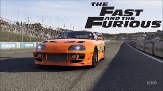 Forza Motorsport 6 - Toyota Supra Fast & Furious 1995 - Test Drive Gameplay (HD) [1080p60FPS]