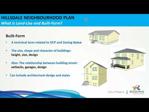 Hillsdale Neighbourhood Plan Virtual Information Session