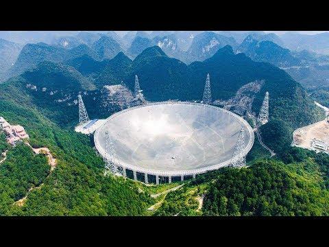 الصين تبهر العالم من جديد لانها بنت أكبر تلسكوب في العالم وسط الجبال .. شيء لا يصدق  - 15:51-2019 / 11 / 9