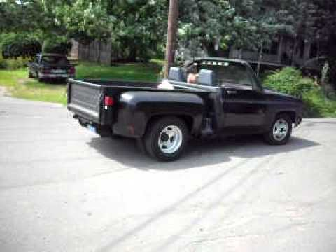 Convertible Chevy Pickup