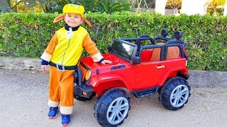 Unboxing And Assembling new Jeep 4wd Funny Baby Ride on POWER Wheel Щенячий Патруль