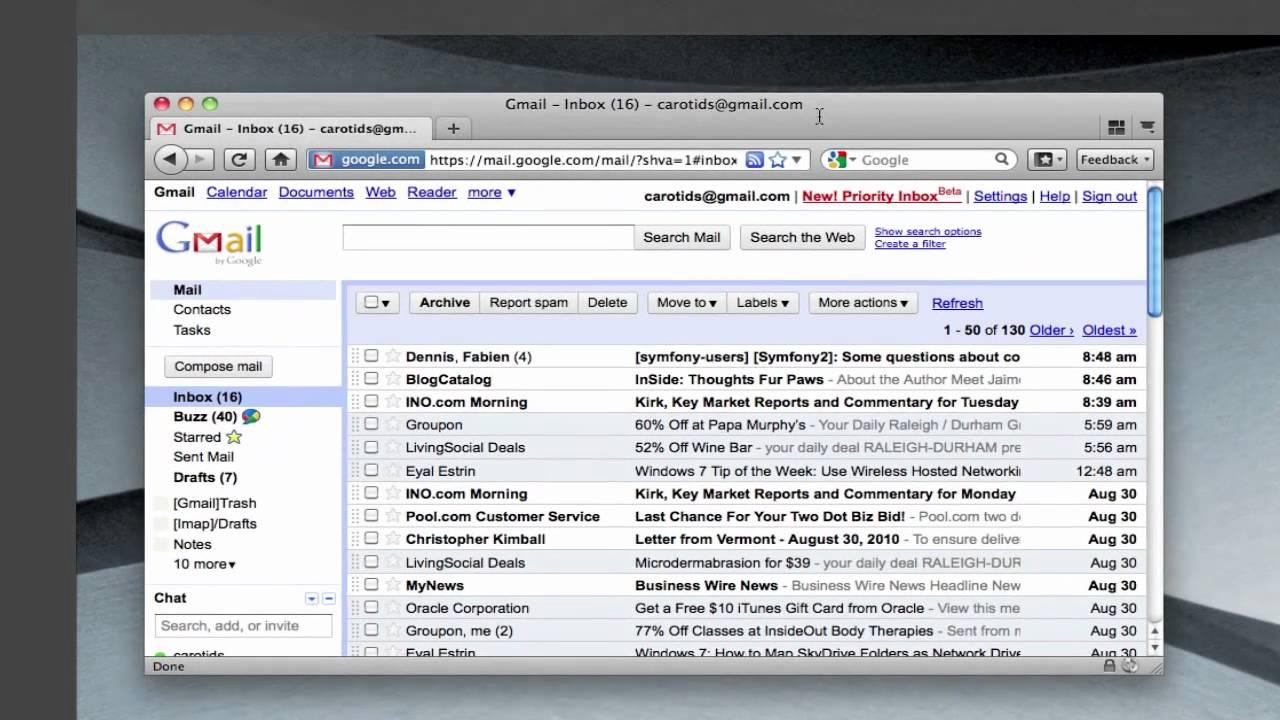 Gmail theme greasemonkey - Gmail Background Music Bug
