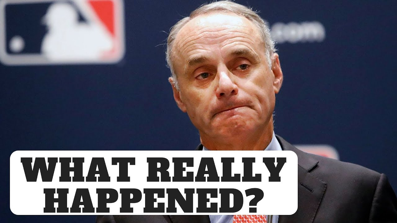 Astros Stealing Signs...What Really Happened