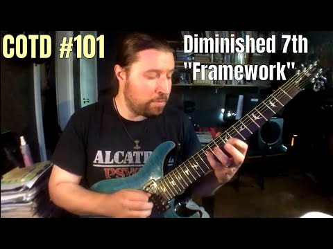 "The Diminished 7th ""Framework"" 