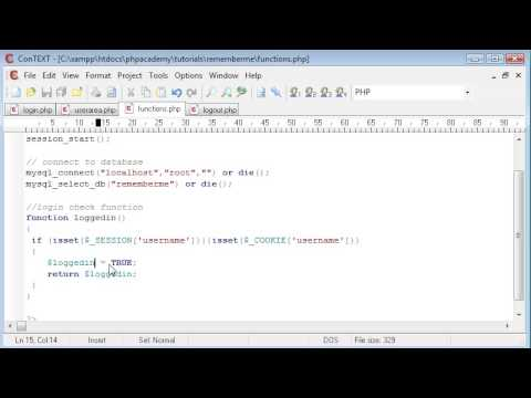 how to use php session and cookies