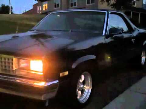 1987 Chevy El Camino 383 Stroker Motor Youtube