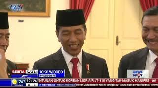 Jokowi Melantik Andika Perkasa sebagai Kepala Staf TNI AD