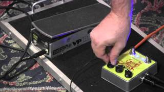 Dwarfcraft HAX ring modulator pedal demo with Expression Pedal