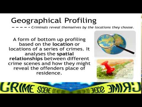Offender Profiling: Bottom Up Approach // Forensic Psychology