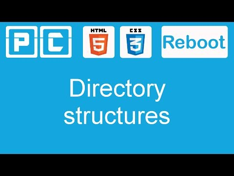 HTML5 And CSS3 Beginners Tutorial 8 - Directory Structures