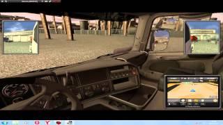 Обзор игры Euro Truck Simulator 2 ( v1.1.1) + ключ активации