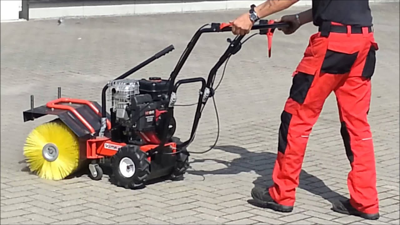 Produktvideo Kehrmaschine Sevilla 6,5 PS - www.WEMATIK.de ...