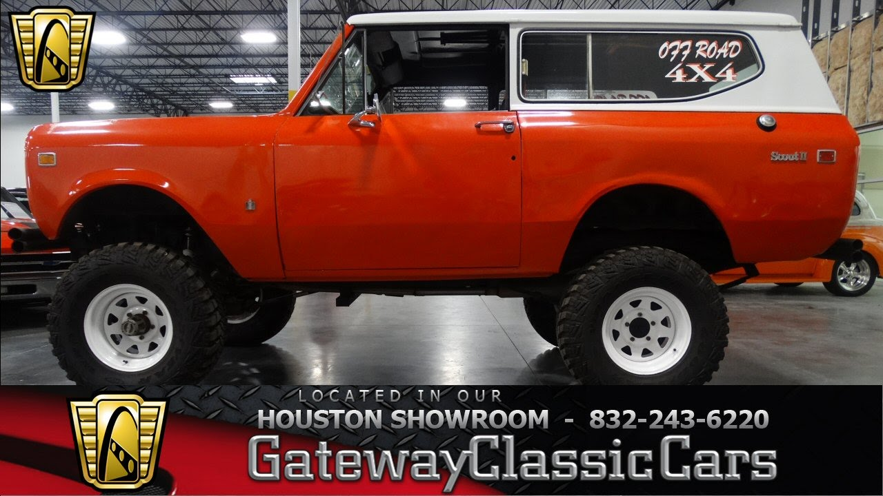 1974 International Scout Houston Tx - YouTube