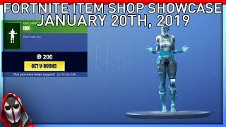 *NEW* IDK Emote! January 20th New Skins || Daily Fortnite Item Shop