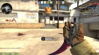 """The Galaxy"" Karambit Doppler Phase 2:Gameplay"