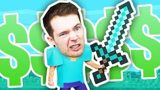 Minecraft Hunger Games for $10,000!