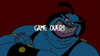Game Over - Space Ace (SNES) - Failure Compilation