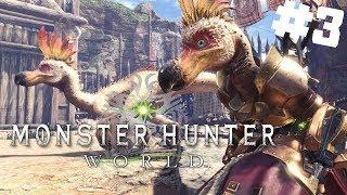Monster Hunter World PL #3 - 30 Minutowe Polowanie na Kulu-Ya-Ku   gameplay po polsku