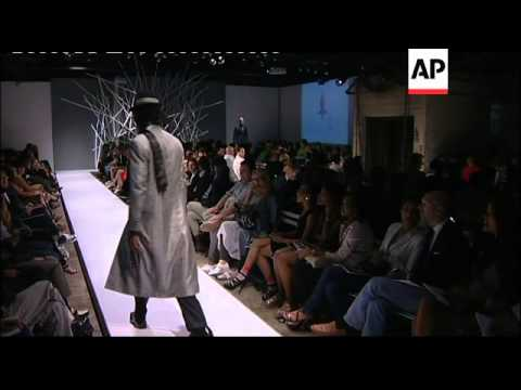 South Africa fashion week opens in Johannesburg