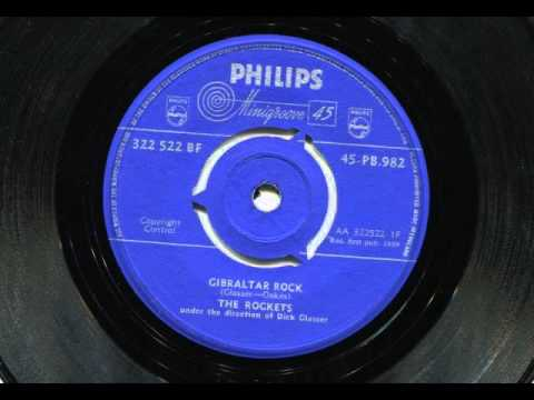 THE ROCKETS - Gibraltar rock - PHILIPS
