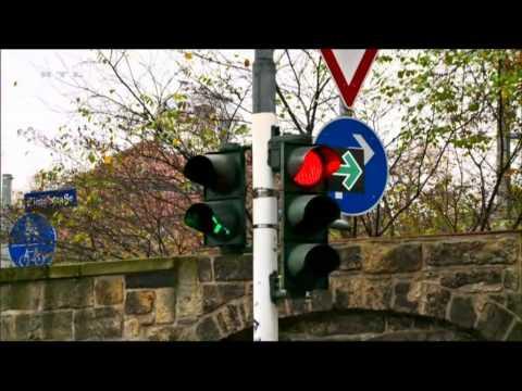 Deutschlands dümmste Ampel in Dresden