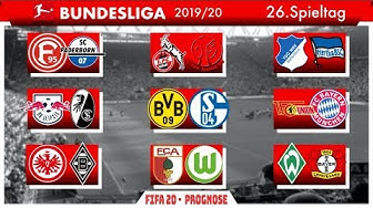 FIFA 20: Spieltag 26 l Saison 2019/20 Bundesliga Prognose l Deutsch [FULL HD]