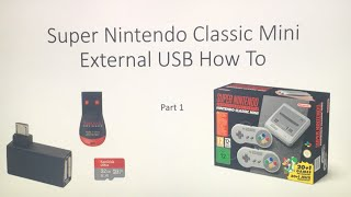 SNES MINI External USB - How To