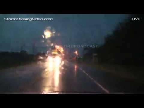 6/6/2015 Central Nebraka Live Storm Chasing