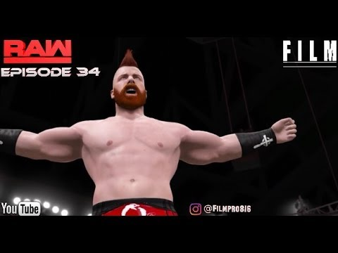 WWE 2K17 Monday Night Raw Story Mode Episode 34