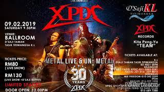XPDC METAL LIVE -UN METAL (30th ANNIVERSARY)-PROMO