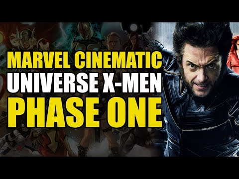 The MCU X-Men: Phase One