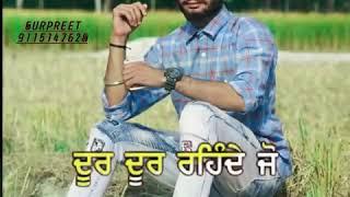 Haunsla || Amrit Maan || Do Dooni Panj || Latest Punjabi song Lyrics WhatsApp status