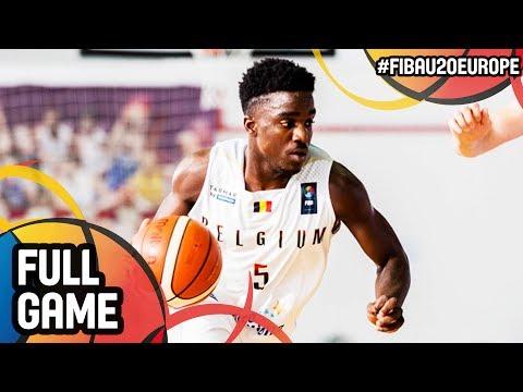 Belgium v Armenia - Full Game - FIBA U20 European Championship 2017 - DIV B