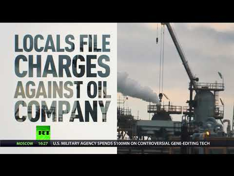 Italian Oil Giant Accused Of Dumping Toxic Waste Off Sicily