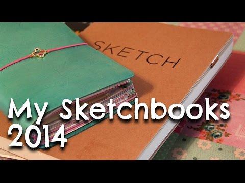 My Sketchbooks 2014
