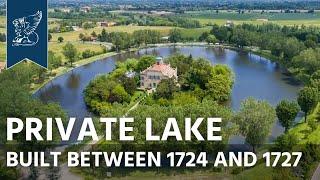Exclusive villa for sale with private lake  | Reggio Emilia, Italy - Ref. 3100