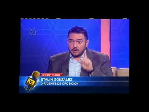 Entrevista Venevisión:  Stalin Gonzalez, dirigente opositor - 14 de octubre de 2021
