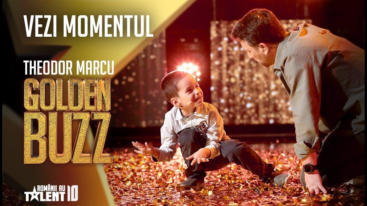 Al treilea Golden Buzz la Românii au talent. La 6 ani, Theodor Marcu face calcul japonez mental