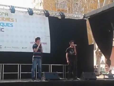 Los dos protagonistas del nuevo musical (En Català)