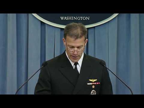 Pentagon Press Briefing Regarding Iranian Detention of RCB Crews
