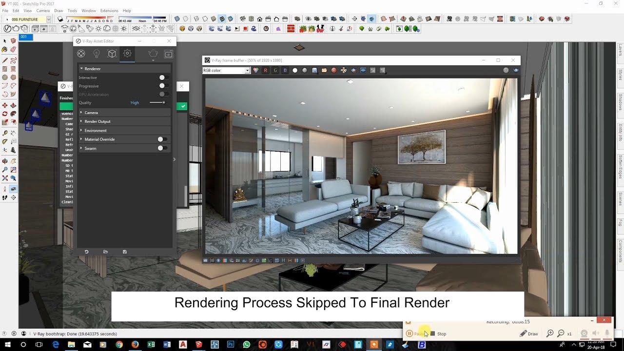 Interior rendering settings in sketchup 2017 vray 3 4 - 3ds max vray render settings interior ...