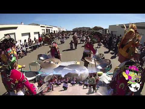 """Comparsa """"Las Monjas"""": Desfile completo desde la percusión con GOPRO. (por ByM Project)."""