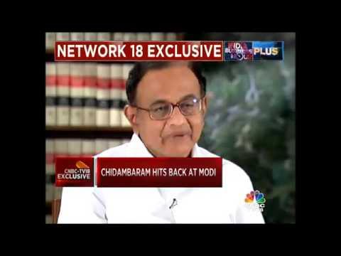 Chidambaram Counters Modi's 'White Paper' Jibe