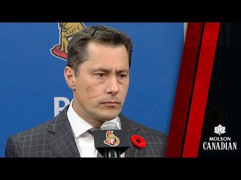Sens vs. Devils - Coach Post-game