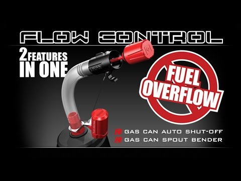 Risk Racing Flow Control Auto Gas Can / Utility Jug shut-off spout