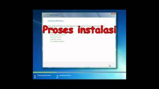 Instalasi Windows 7 32 bit
