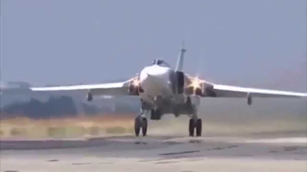 Массированный удар самолетами Дальней авиации по объектам инфраструктуры ИГИЛ в Сирии (ВИДЕО)
