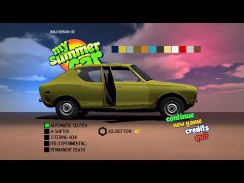 My summer car №1 сборка двигателя