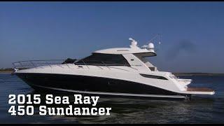 2015 Sea Ray 450 Sundancer Boat For Sale at MarineMax Dallas Yacht Center