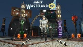 Fallout 4 Wasteland Workshop Полный Обзор. Первый Взгляд.